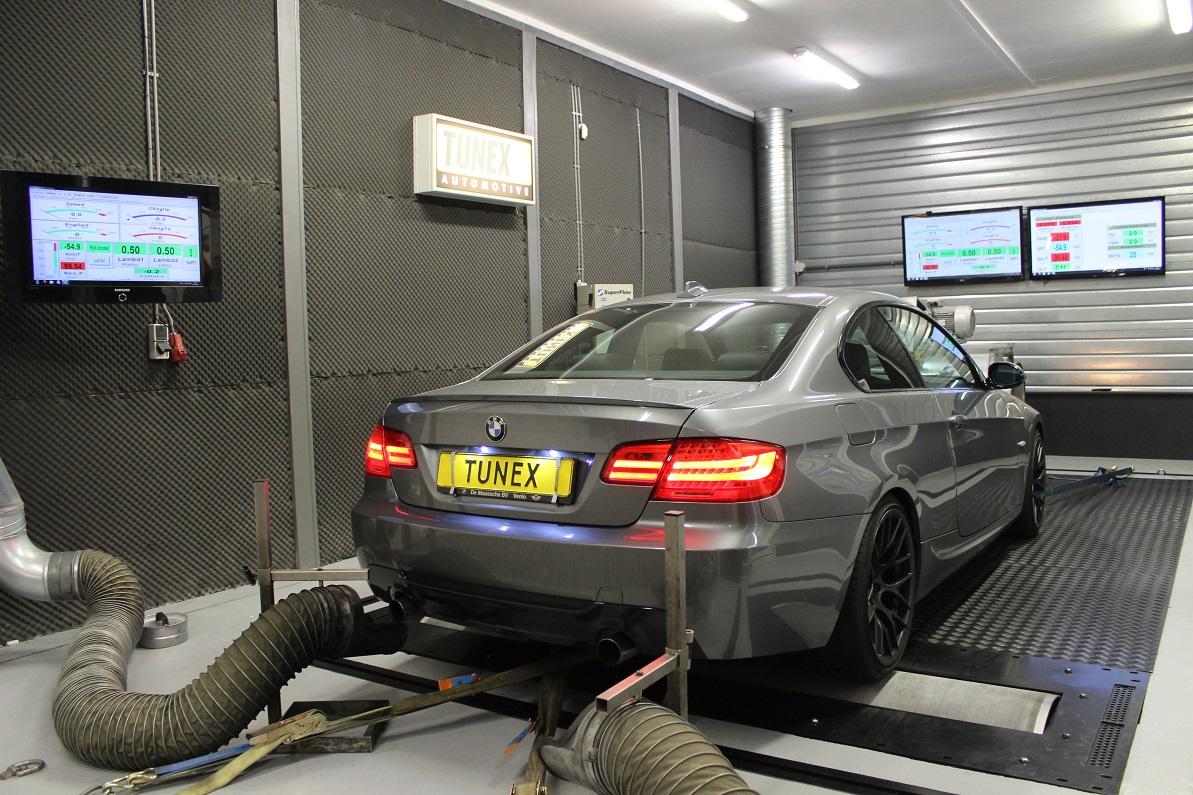 Chiptuning BMW 335i 306pk N54 stage 2