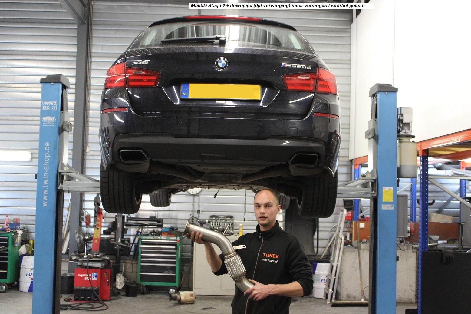Chiptuning BMW M550 XD 381pk
